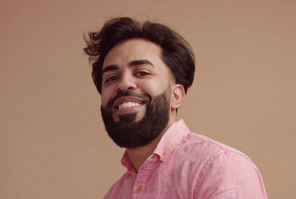 Man with nice full hair